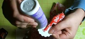 Make twisted fabric flowers
