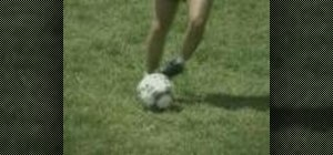 Practice the Roll Across soccer drill