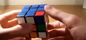 Solve the top cross of the Rubik's Cube