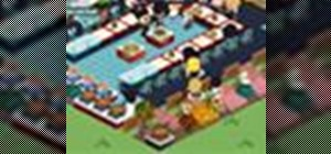 Move items in and out of your cafe in Café World