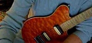 Make a strap lock for guitar