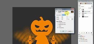 Create a spooky Halloween poster in GIMP