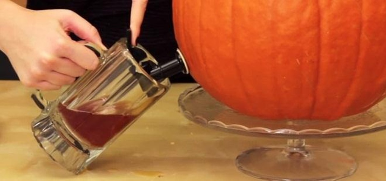 Turn a Pumpkin into a Beer-Dispensing Keg (Perfect for Oktoberfest)