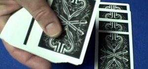Perform the double knockout card trick