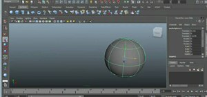 Convert NURBS to polygons in Autodesk Maya 2011