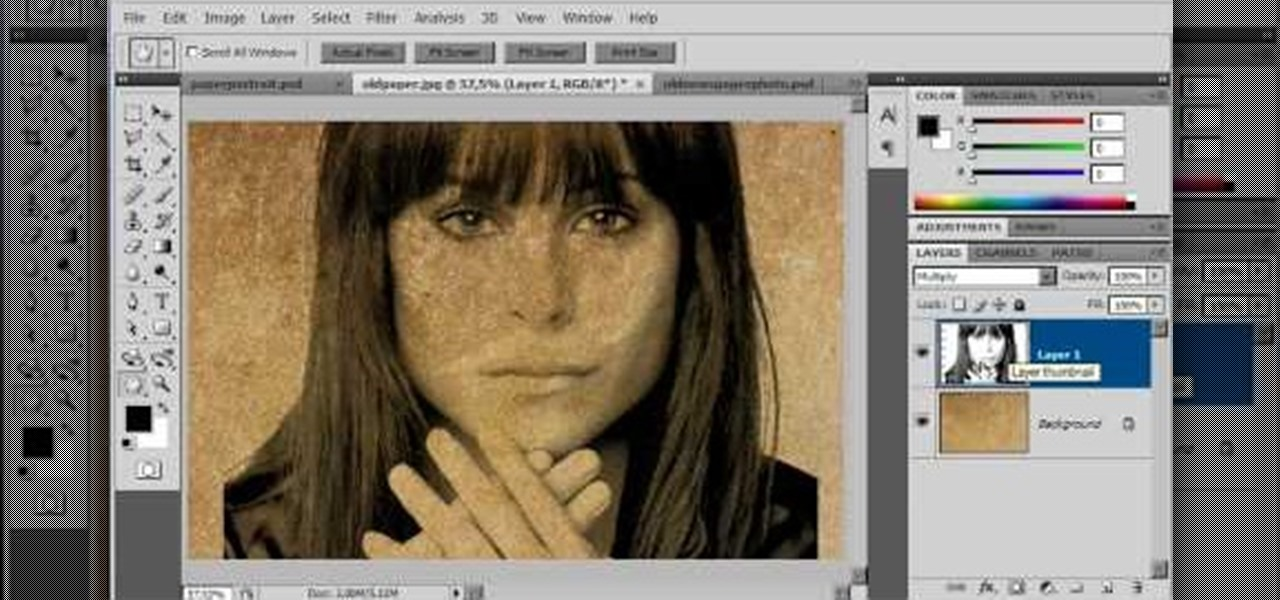 How to Create an old faded newspaper effect in Photoshop « Photoshop