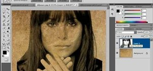 Create an old faded newspaper effect in Photoshop