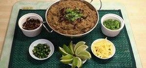 Make an easy traditional haleem