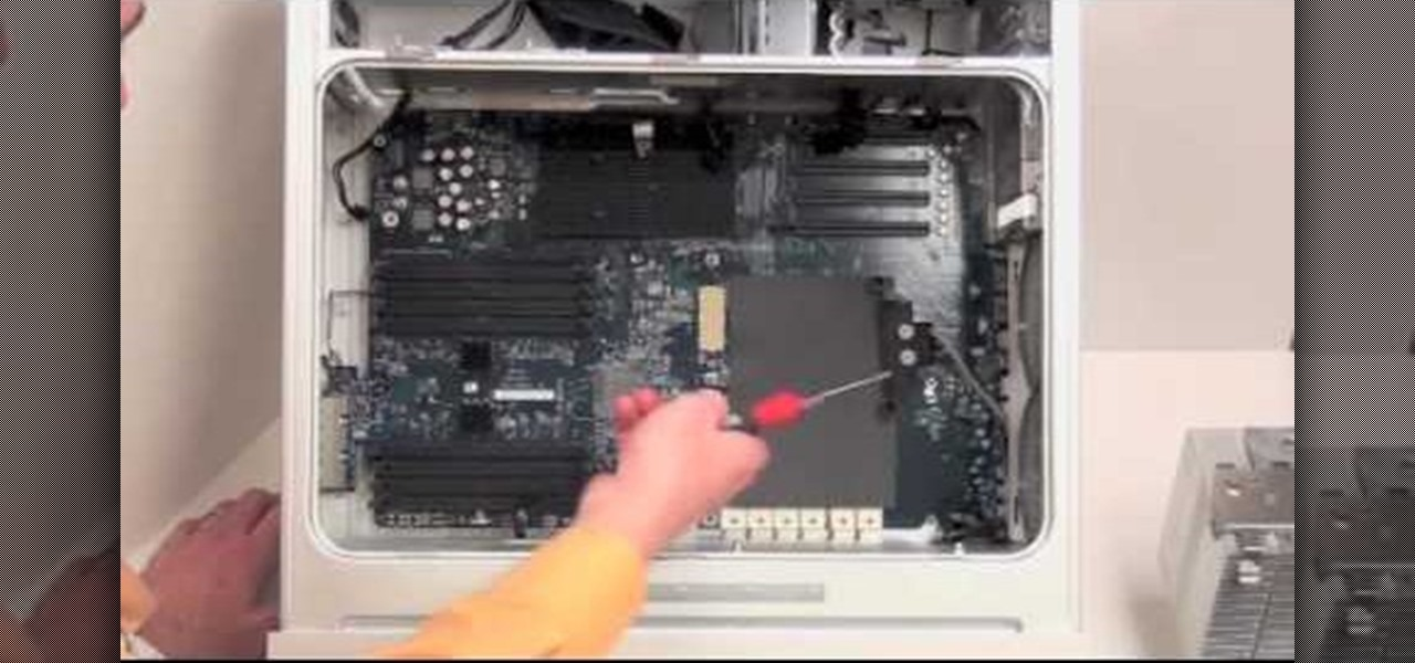 how to remove the logic board on a power mac g5 computer hardware rh computer hardware wonderhowto com