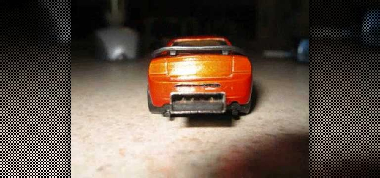 How To Mod A Hot Wheels Toy Car Into A Usb Flash Drive Key