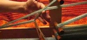 Weave on an Inkle loom