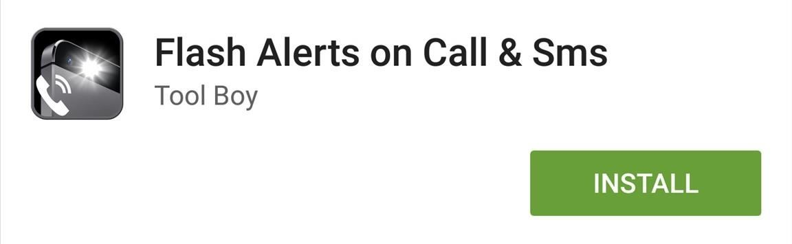 How to Enable LED Flash Alerts for Calls, Texts, & Battery Warnings on Android