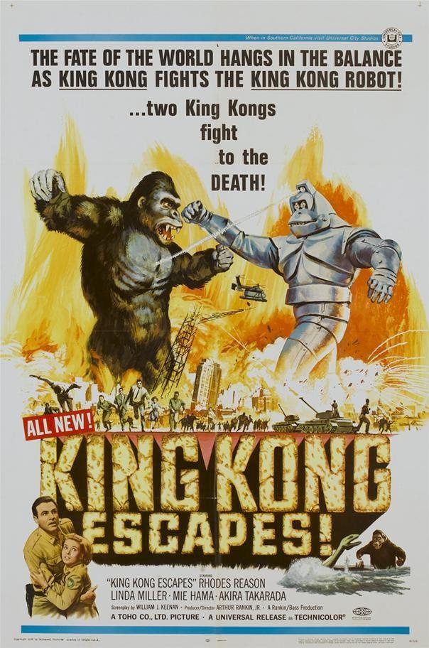 King Kong Escapes!