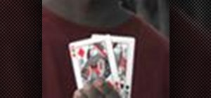 Do the Twisted Sister card magic trick