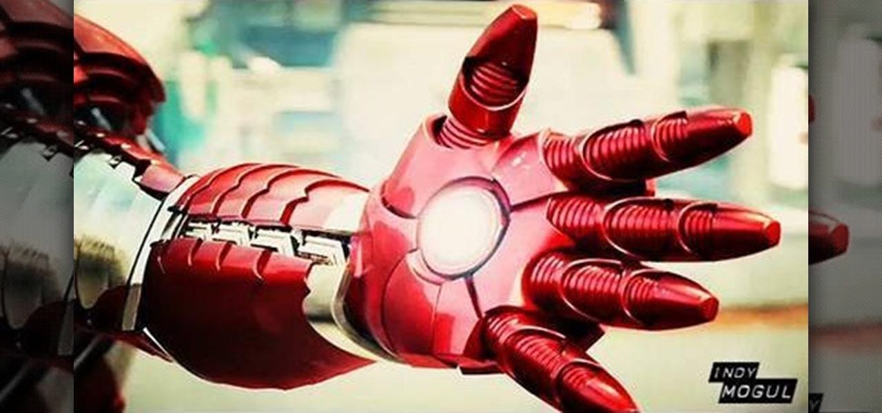 Перчатка железного человека своими руками
