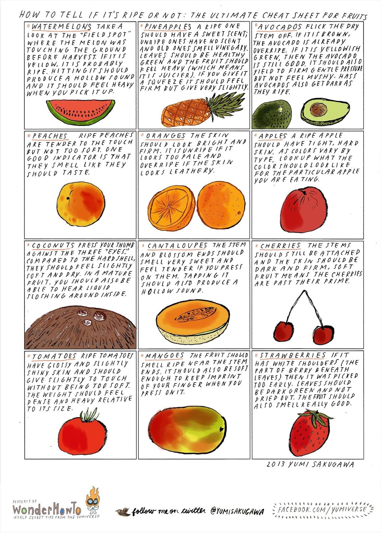 How to Tell If It's Ripe or Not: The Ultimate Cheat Sheet for Tricky Fruits