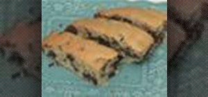 Bake chocolate chip mandel bread