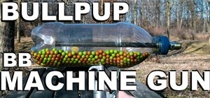 Make a BB Machine Gun from a Soda Bottle