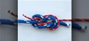 Tie the Figure 8, or Flemish, Bend (Rope Join) knot