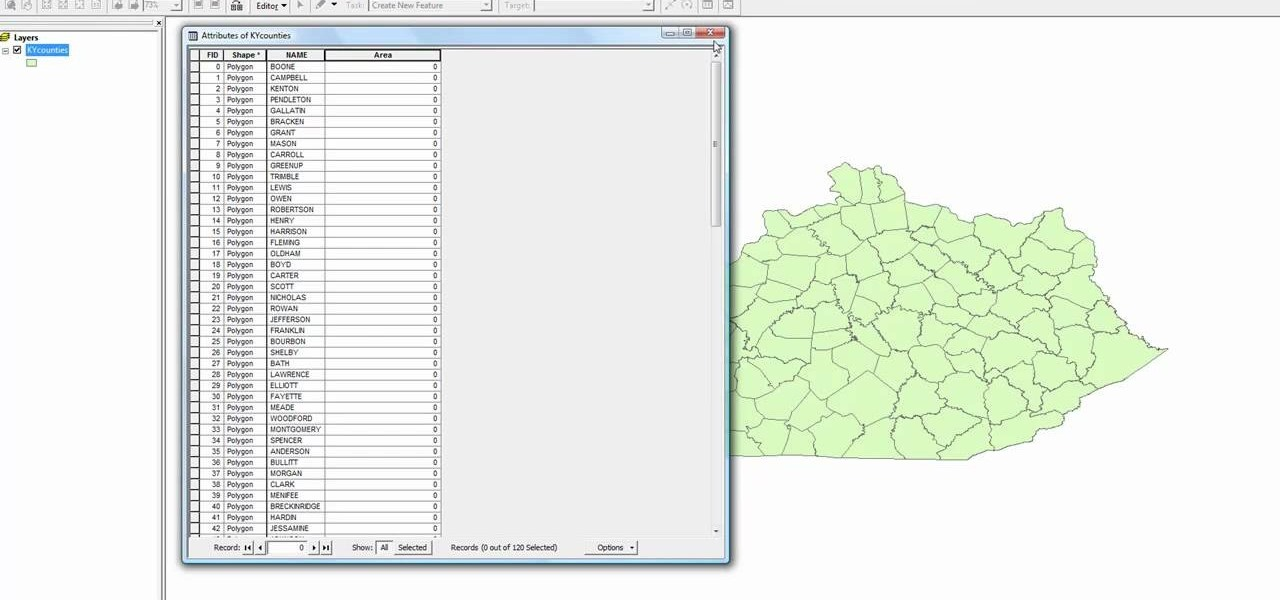 how to add data in attribute table in arcmap