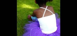 Make an adorable no-sew tutu with your kids