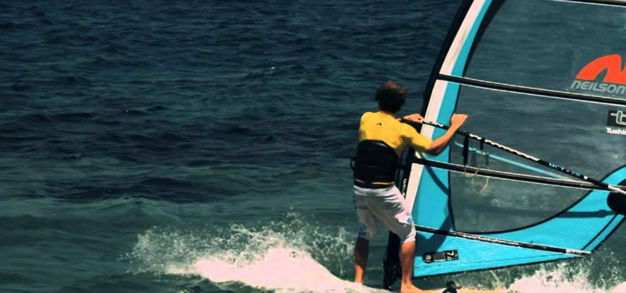 Carve Tack When Windsurfing