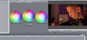 Use the 3-way color correction tool in FInal Cut Pro
