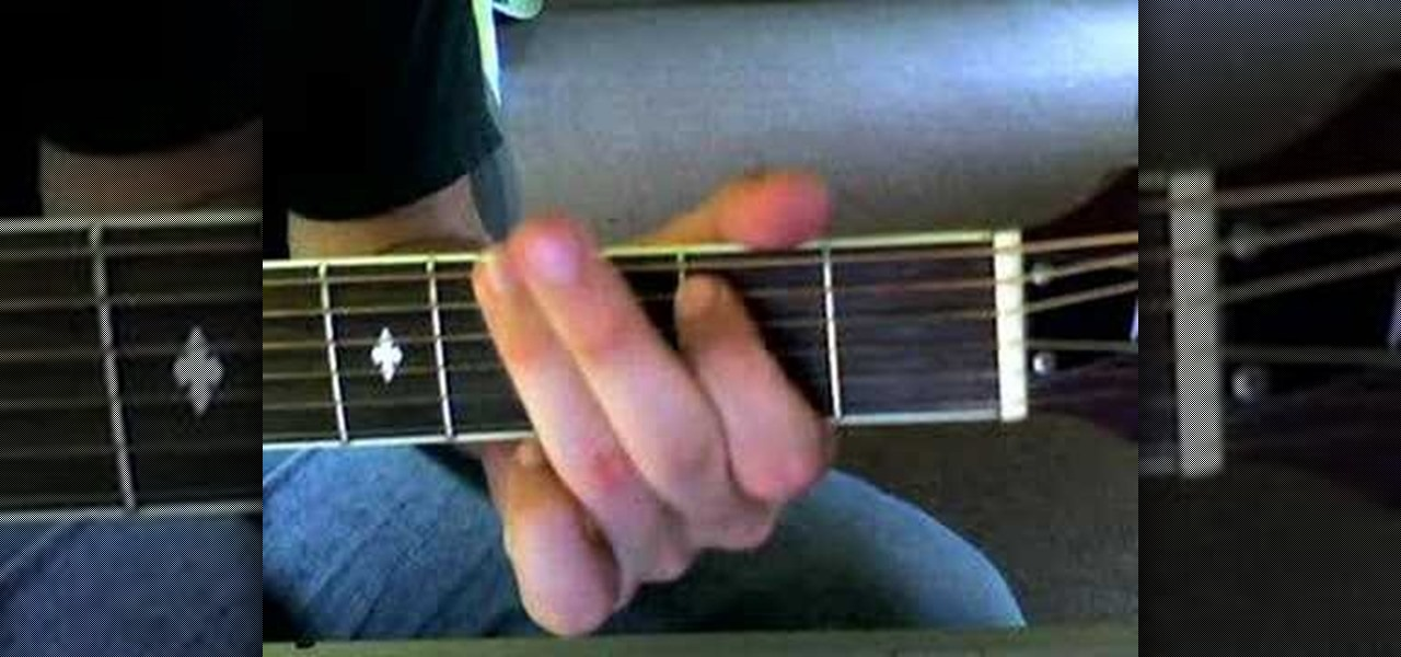 How To Play Matt Redmans Blessed Be Your Name On Guitar