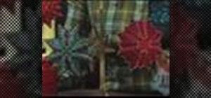 Make a kaleidoscope ornament