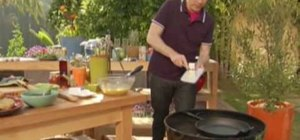 Make fresh Argentinian steak & eggs with Bobby Flay