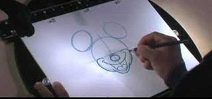 Do a quality drawing of Disney's Mickey Mouse
