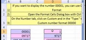 Use custom number formatting with zeroes in MS Excel