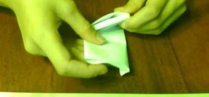 Fold a very simple paper football