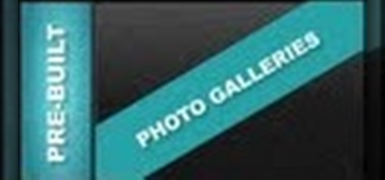 Edit Pre-Built Photo Galleries Xara Web Designer 7 Premium