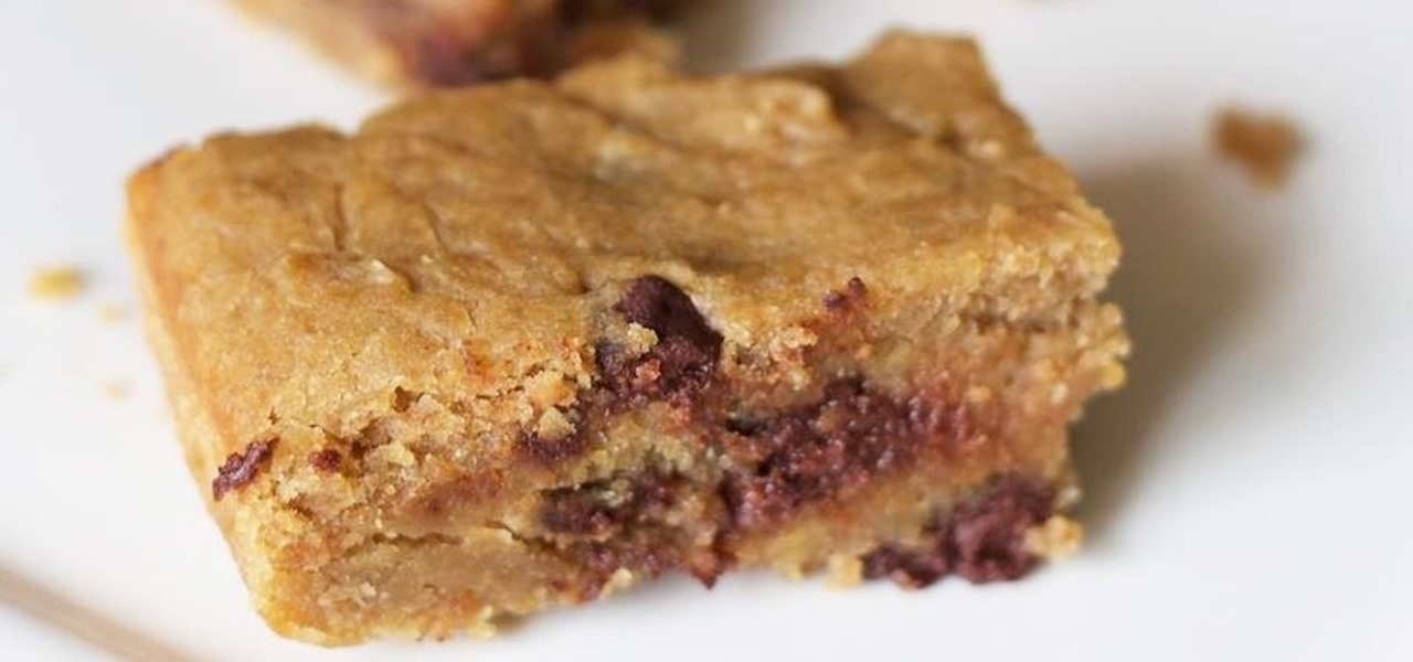 Chickpea Blondies Are Vegan, Delicious & Packed with Protein