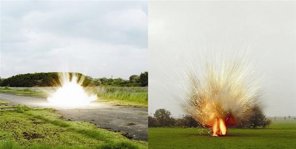 Iraq War Inspires Highly Explosive Art