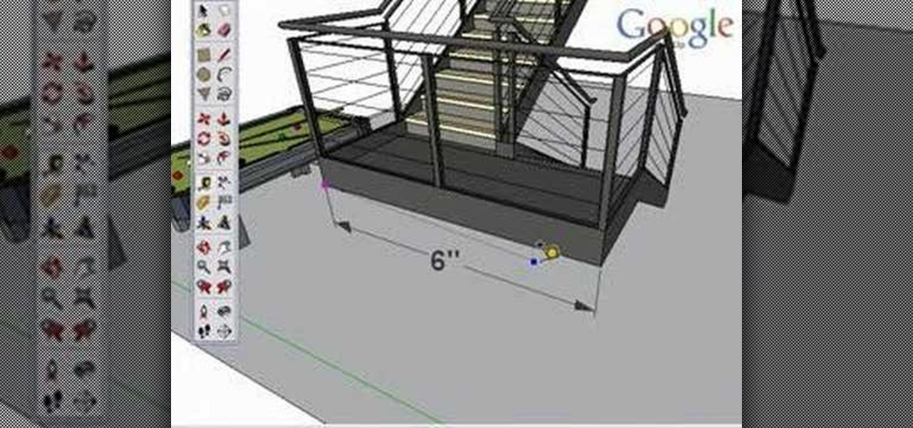 How to Use the tape measure tool in Google SketchUp « Software ...