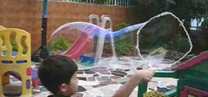 Make bubble solution for big bubbles