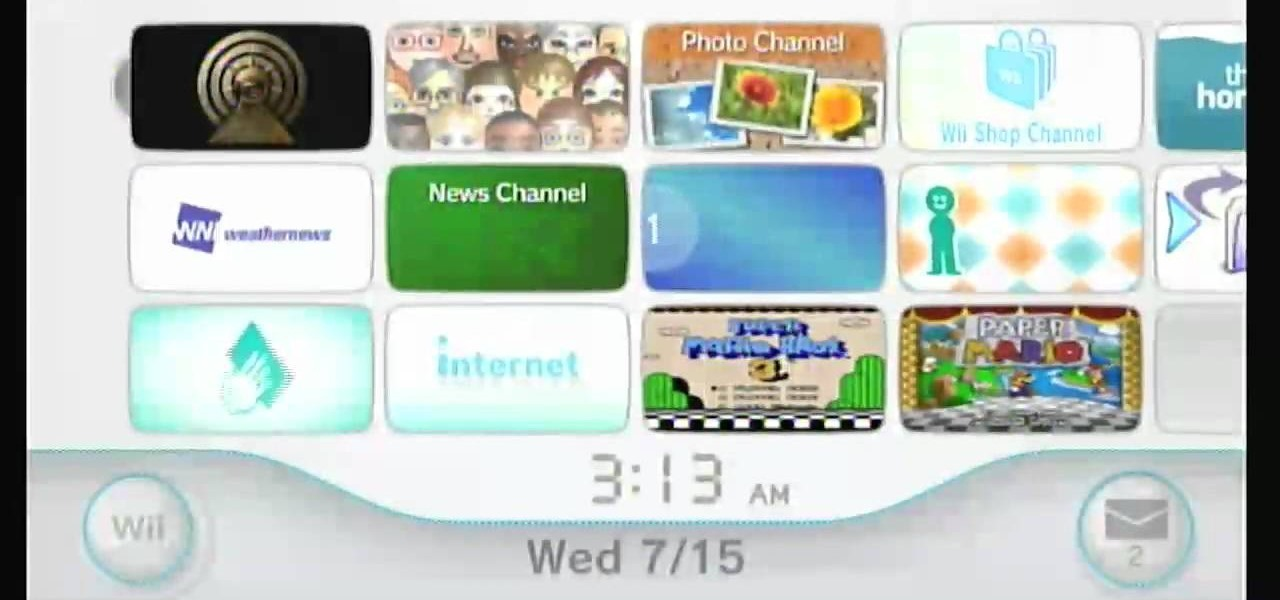 Wii Homebrew Channel Wad