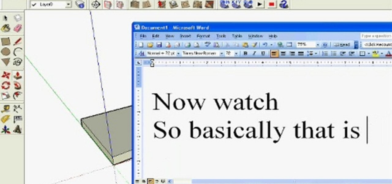 How To Understand The Basics Of Drawing In Google Sketchup