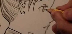 Draw manga faces in profile