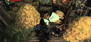 Find the Assassin's Creed 2 easter egg in The Witcher 2 on PC