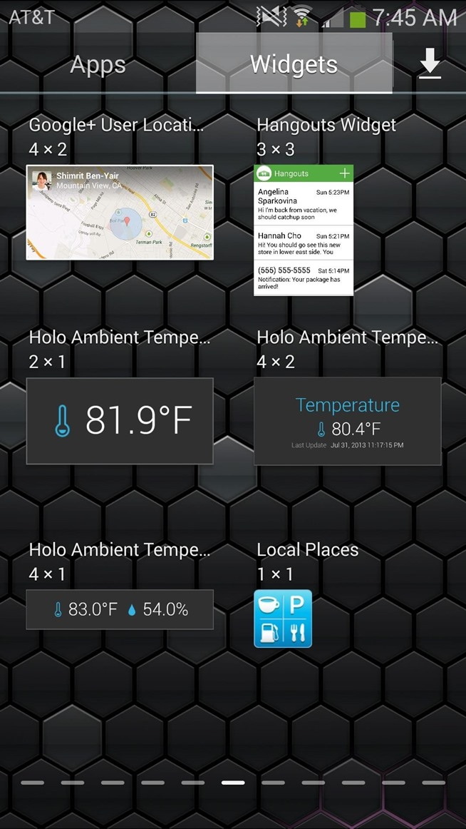 Home Screen Messages From The Home Screen on
