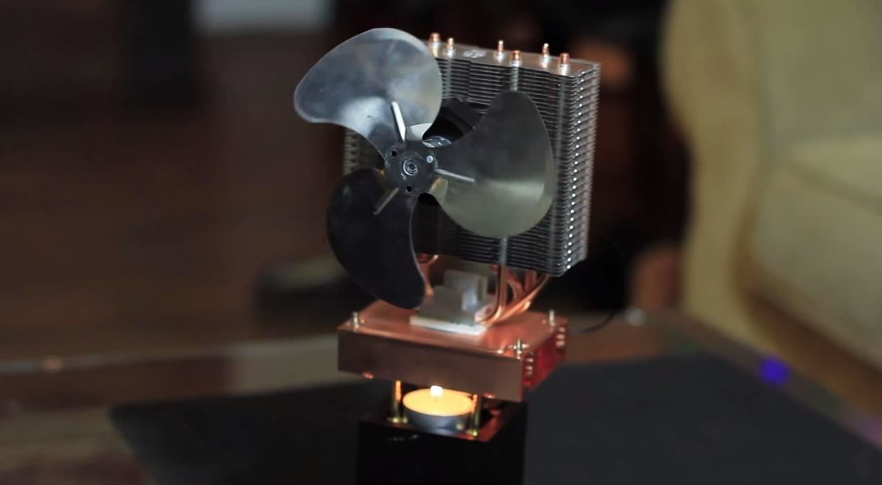 Diy Candle Powered Fan Keeps You Cool At Home Using Fire