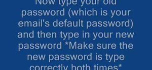 Set-up a password for your Microsoft Outlook email