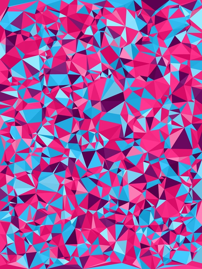 colorful shapes background created - photo #13