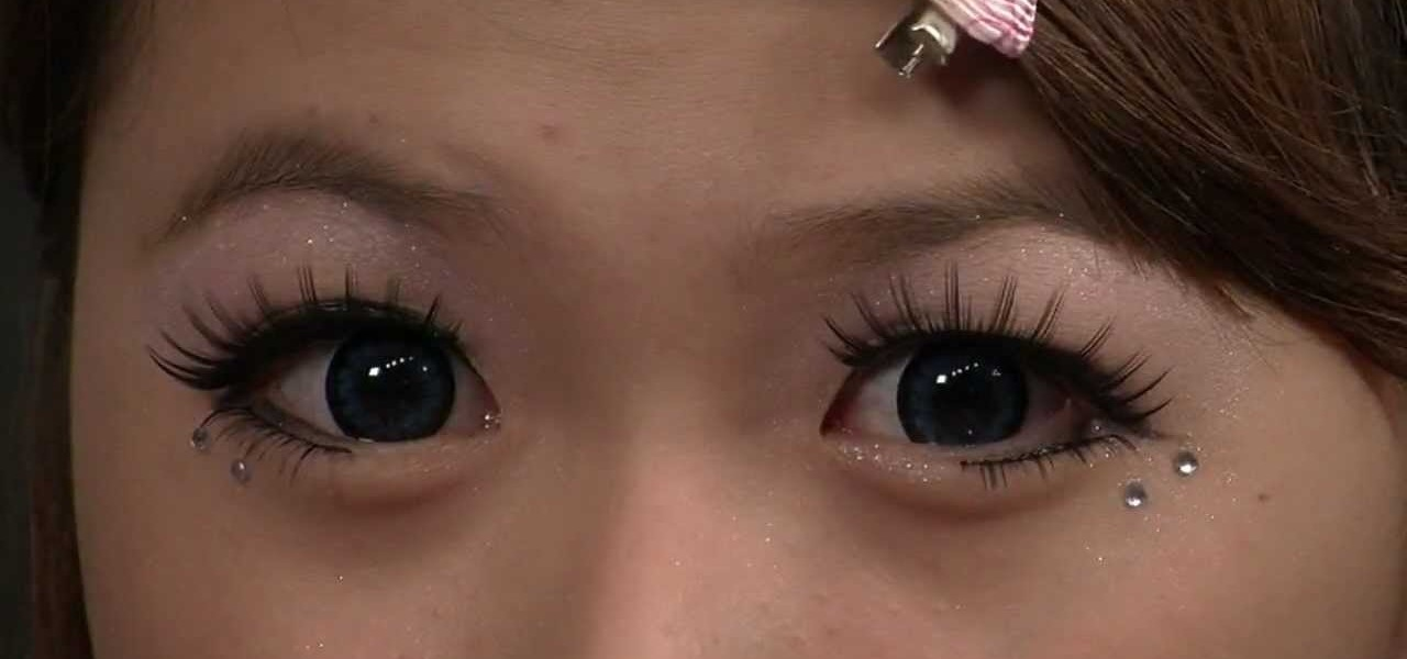 Create Wide Eyed Japanese Dolly Eye Makeup Look