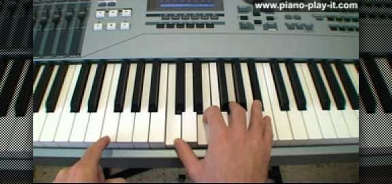 how to play sevenths on piano