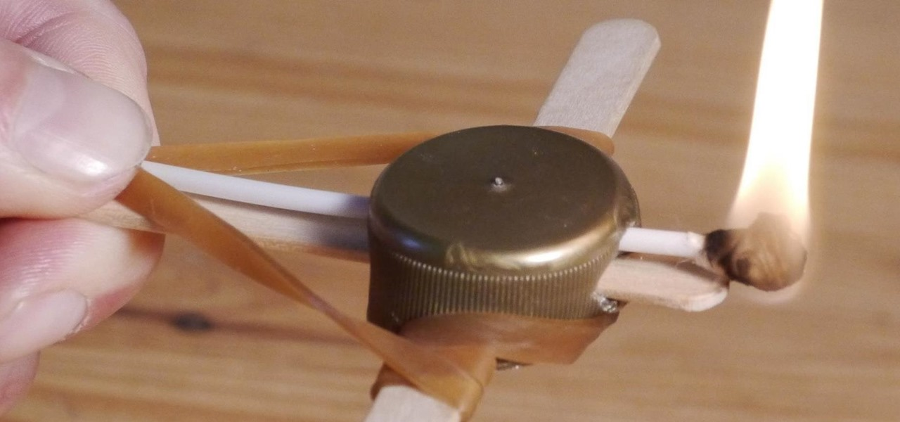 Make a Mini Crossbow from Bottle Caps & Popsicle Sticks