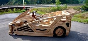 $44K Street Legal Wooden SuperCar